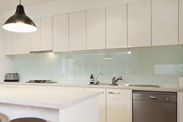 How To Clean Kitchen Tiles Walls Painted glass splashbacks or digital art glass for your ...